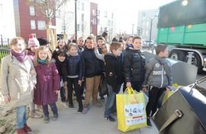Les élèves de CM1 de l'école Lamartine, les ambassadeurs de demain !
