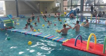 atelier parents enfants piscine