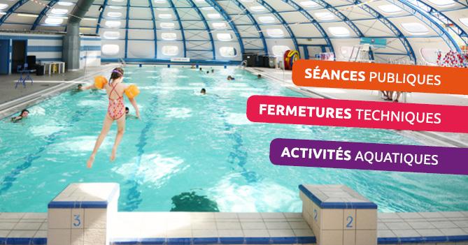 horaires d'été piscines