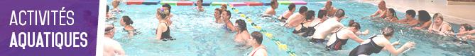 activités piscine Boussois-Recquignies