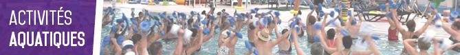 activités piscine épinette Maubeuge