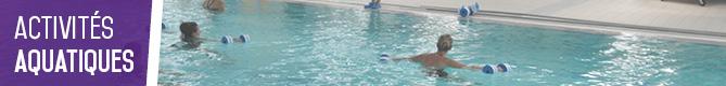 Horaires des activités piscine Hautmont