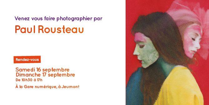 Paul Rousteau à la Gare numérique