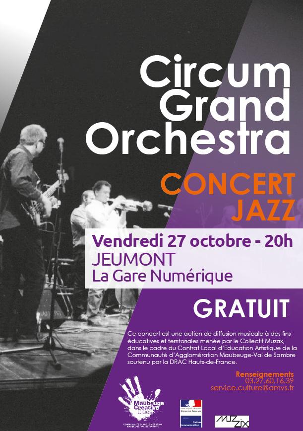 Concert gratuit du circum grand orchestra la gare - Agglomeration maubeuge val de sambre ...