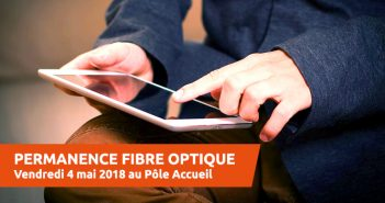 Permanence fibre optique