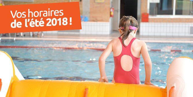 Planning piscines été 2018