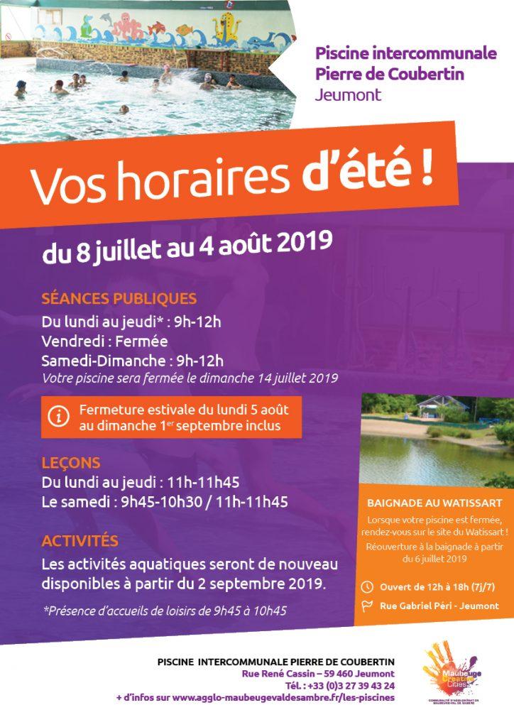 horaires-ete-2019-piscine-jeumont
