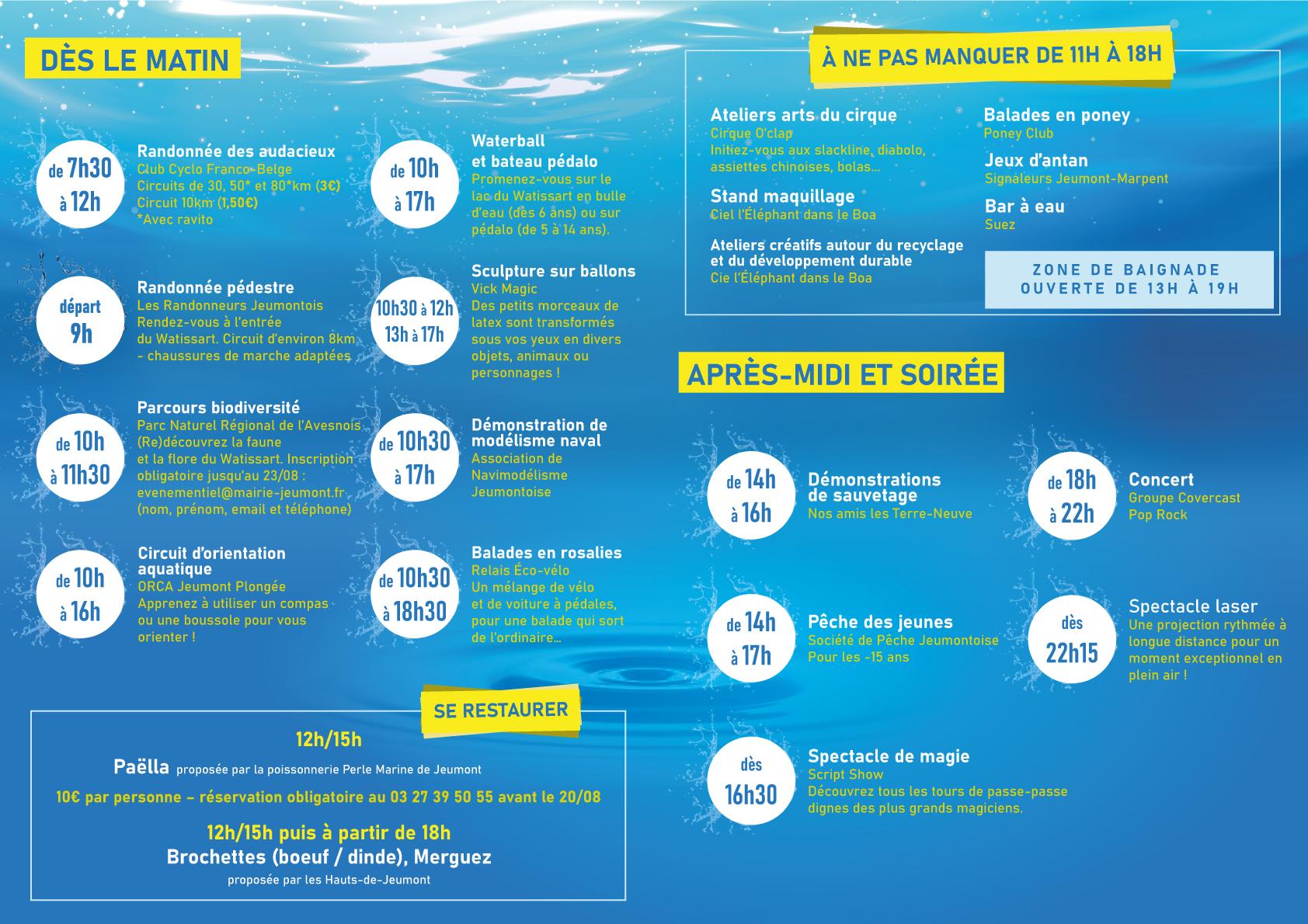 Fête de l'eau 2021