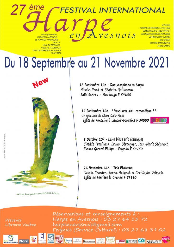 Festival Harpe en Avesnois 2021