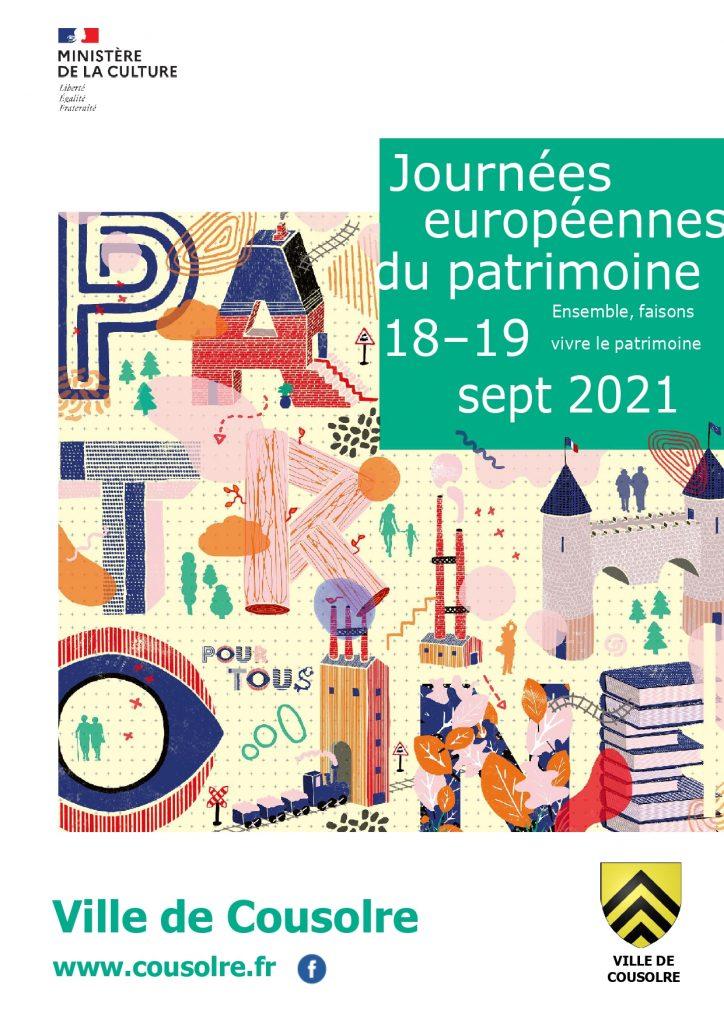 Programme Journée du Patrimoine cousolre 2021