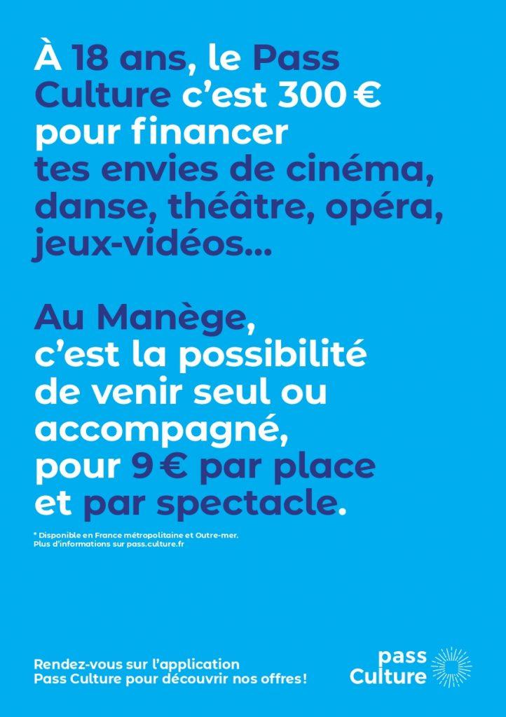 pass culture Manège Maubeuge